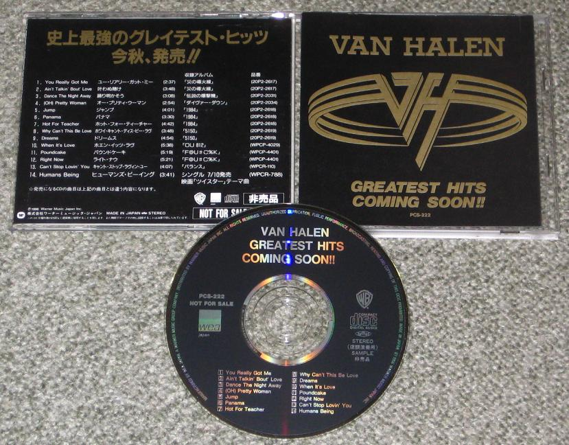 Van Halen - G.hits Coming Soon!!