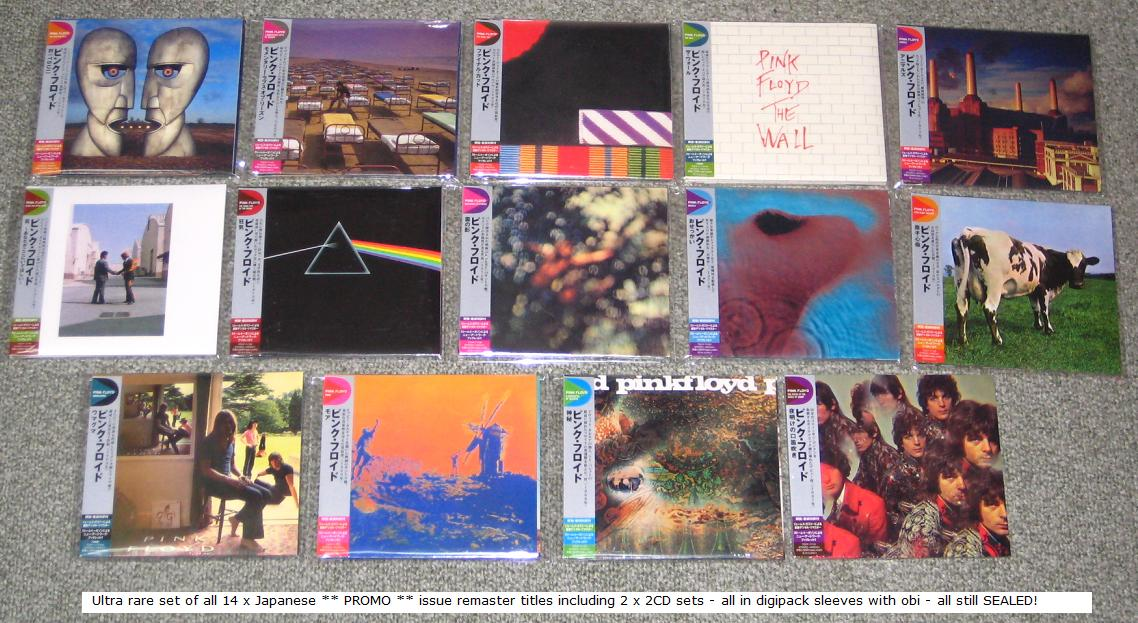 PINK FLOYD - 14 x PROMO remasters SEALED! - CD
