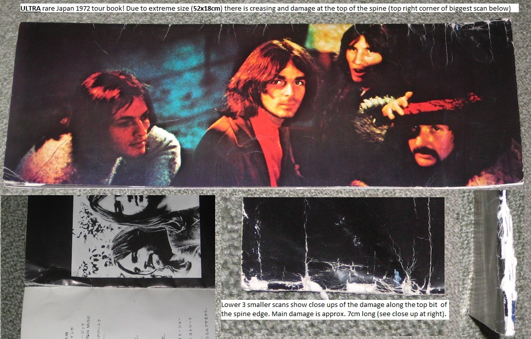 Pink Floyd - Japan 1972 Tour Book - Rare!