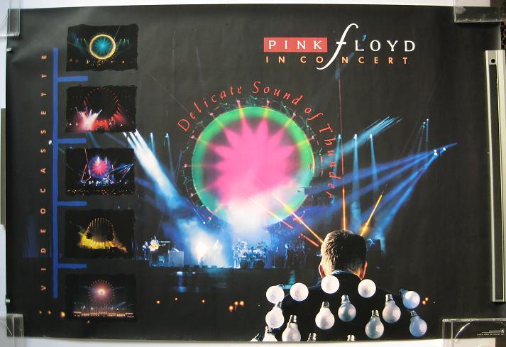 PINK FLOYD - DSOT Japan 1988 promo poster - Poster / Display
