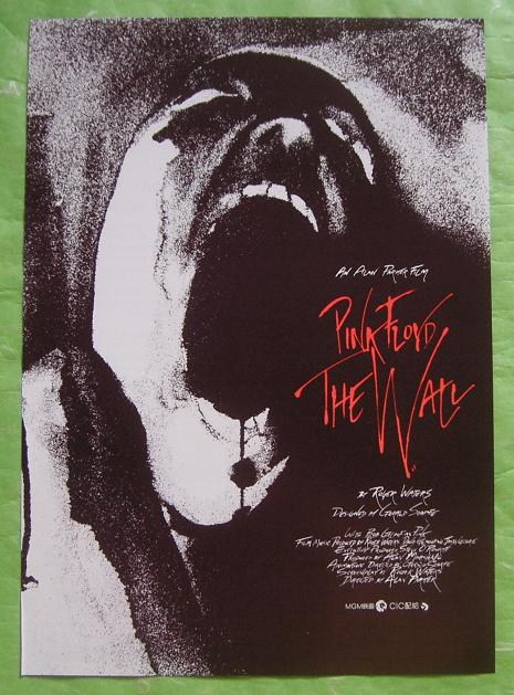 PINK FLOYD - The Wall original film flyer - Others