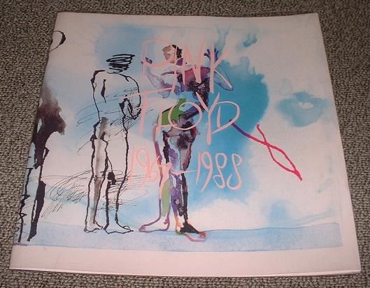 PINK FLOYD - Pink Floyd 1967 - 1988 book - Concert Program