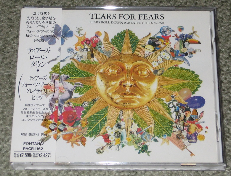 Tears For Fears Tears Roll Down Records Lps Vinyl And