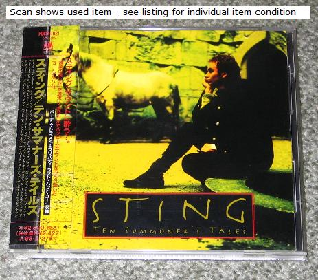 Album Ten Summoner S Tales By Sting On Cdandlp