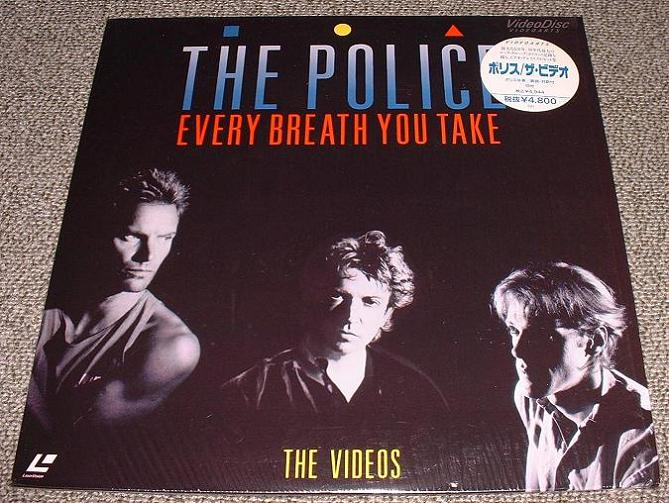Police - Every Breath - The Videos Album