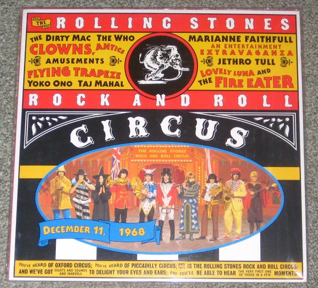 Rolling Stones - Rock And Roll Circus Record