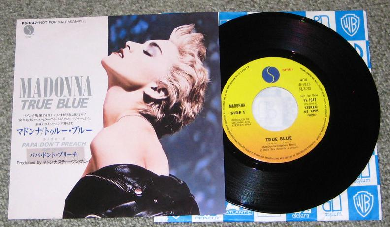 Madonna - True Blue Record
