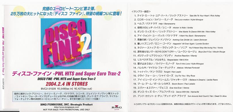 Pwl Hits And Super Euro Trax 2