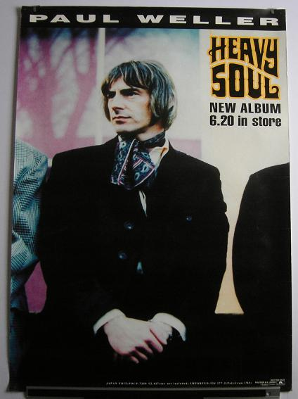 Weller, Paul - Heavy Soul Release Poster