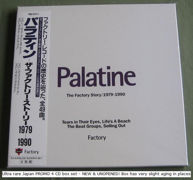 New Order Palatine+-+The+Factory+Story BOX