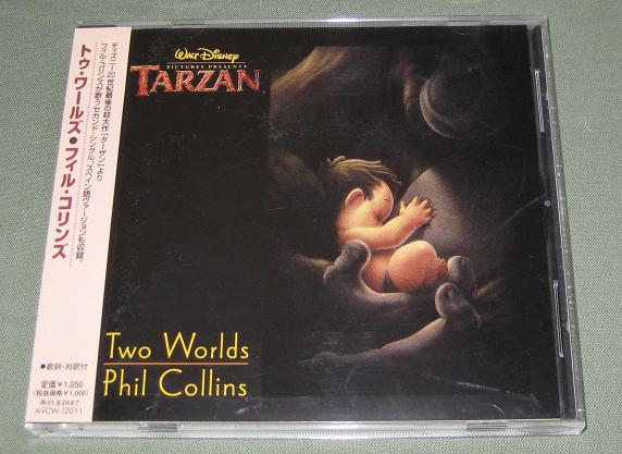 COLLINS, PHIL - Two Worlds - CD single