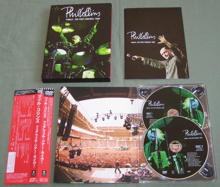 COLLINS, PHIL - Finally, The 1st Farewell Tour - DVD