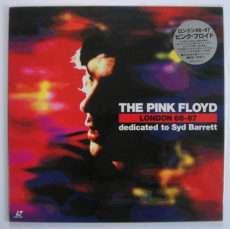 PINK FLOYD - London 1966 - 1967 - Laser Disc