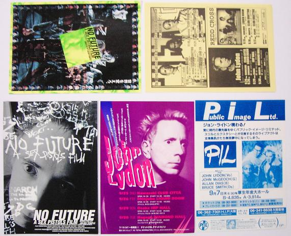 Set Of 5 Japanese Handbills