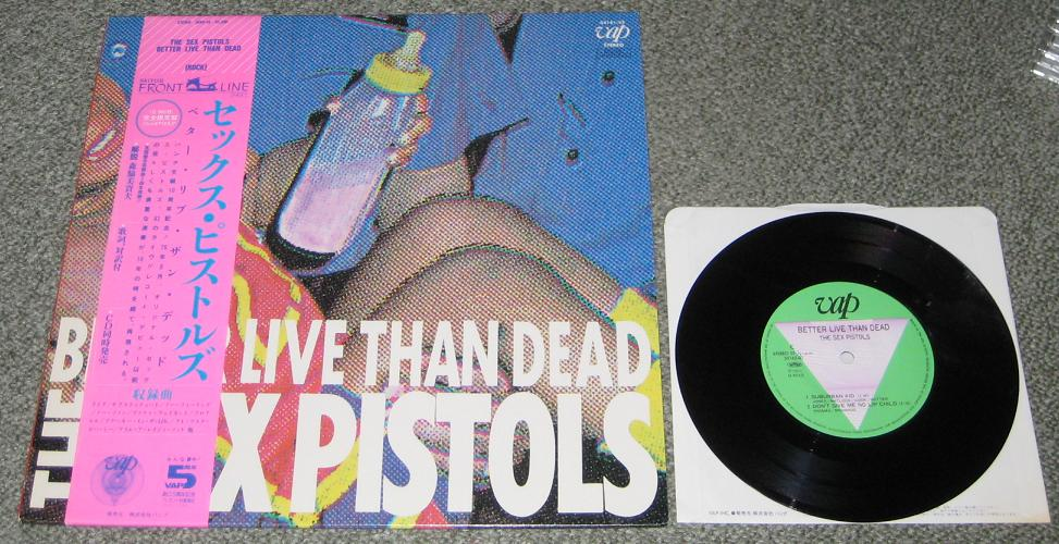 Sex Pistols Better+Live+Than+Dead+++7inch! LP