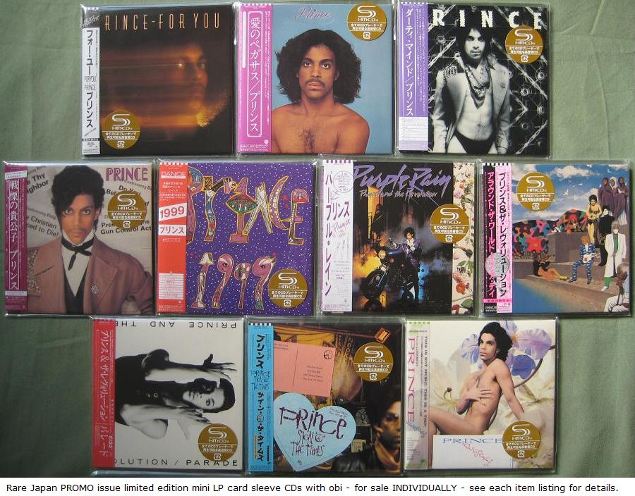 Prince - Dirty Mind - Shm Cd