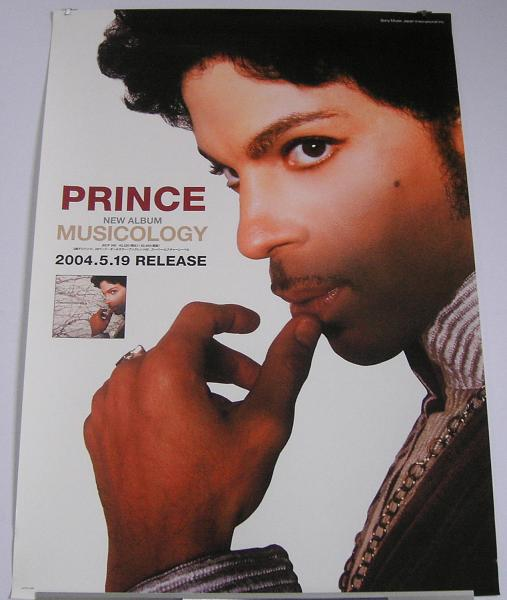 PRINCE - Musicology JAPAN poster - Poster / Display