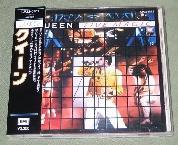 Queen - Live Magic - 3200 Yen Obi