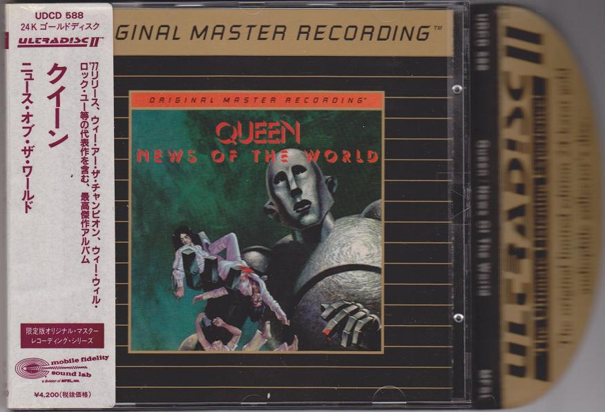 Queen - News Of The Mfsl Gold Cd