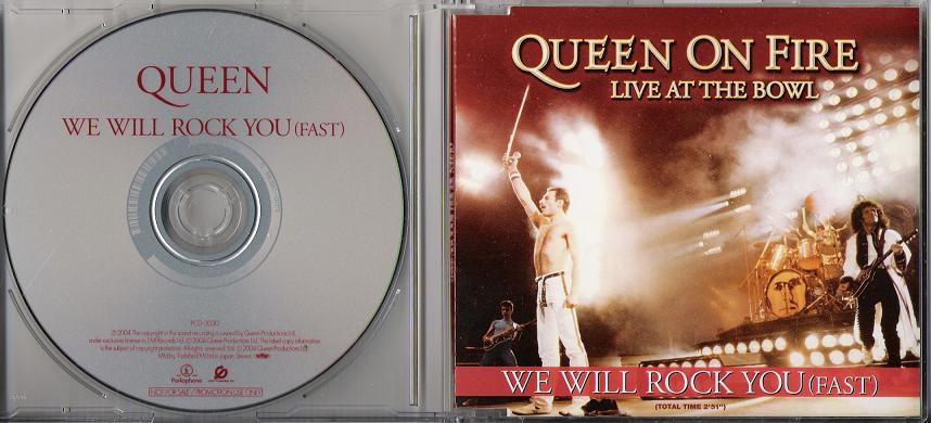 Queen - We Will Rock You (fast)