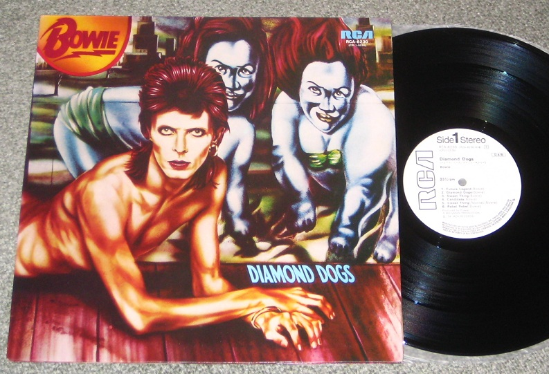 Bowie, David - Diamond Dogs W/label Original