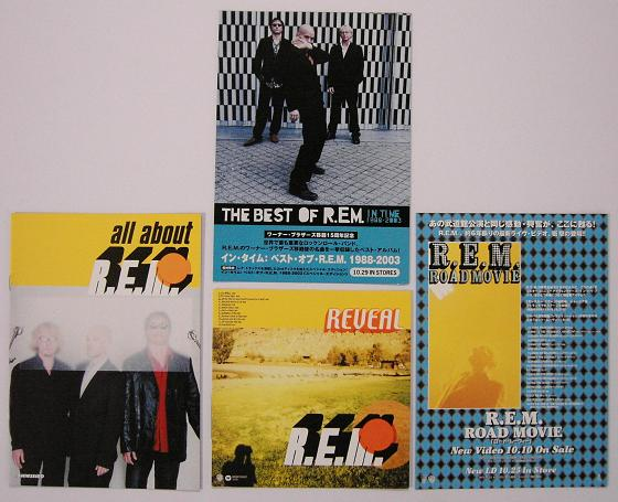 Set Of 4 Japan Promo Booklets