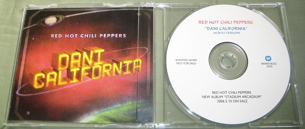 RED HOT CHILI PEPPERS - Dani California Lp Vers. - U.s. Promo Issue -