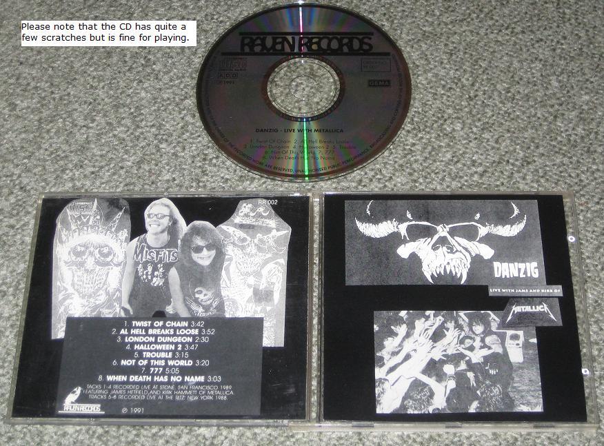 Danzig - Danzig Live With Metallica