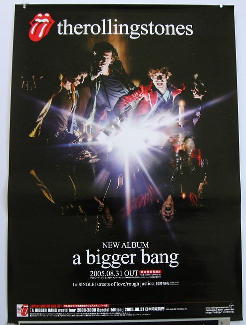 Rolling Stones - A Bigger Bang Promo Poster