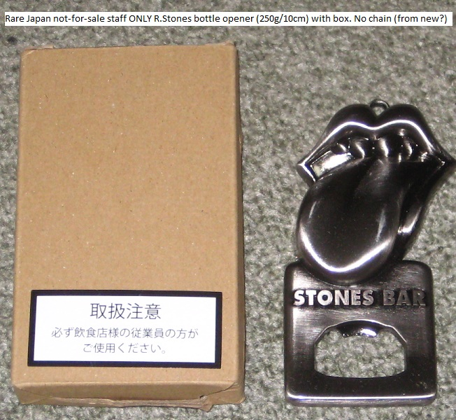 Rolling Stones - Stones Bar Bottle Opener