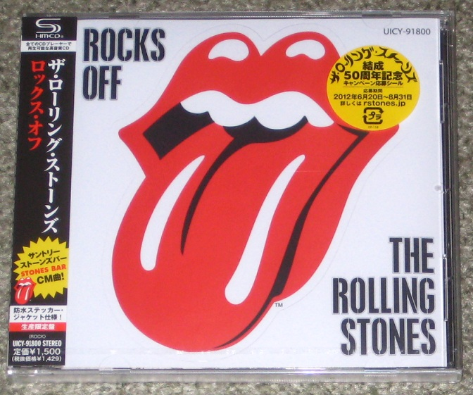Rocks Off - 5 Track Cd - Rolling Stones