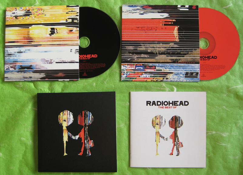 Radiohead - Best Of + Japan Promo Booklet