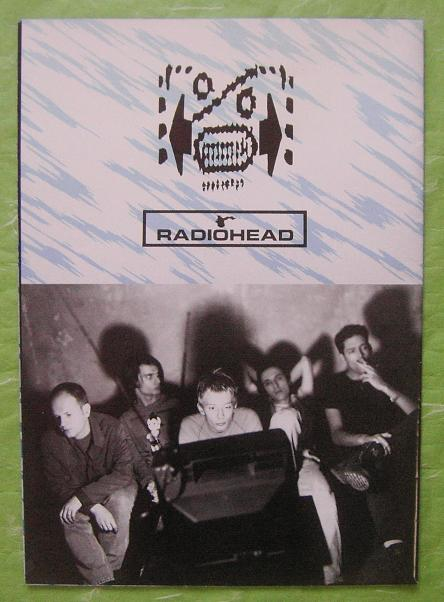 Radiohead Japan 1995 Tour Book BOOK