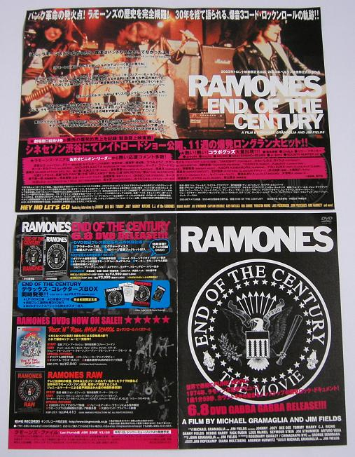 Ramones - End Of The Century Dvd