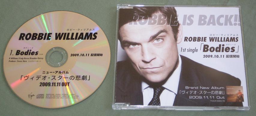 Williams, Robbie - Bodies - 1 Track Cd