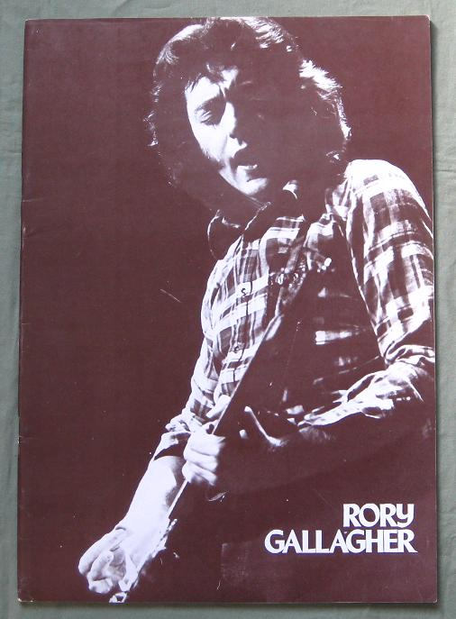 Gallagher,Rory Japan 1975 Tourbook BOOK