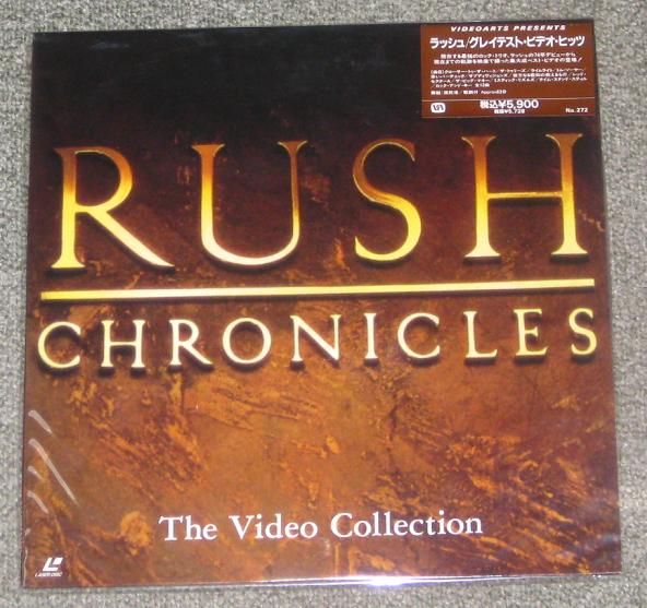 Rush - Chronicles Single