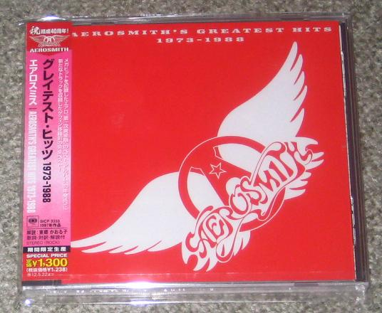 Aerosmith - Greatest 1973/1988 - Reissue