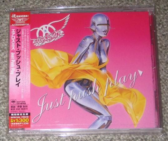 Aerosmith - Just Push Play - Reissue