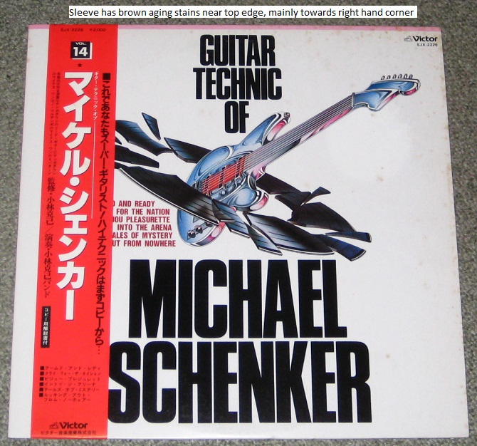 Guitar Technic Of M Schenker