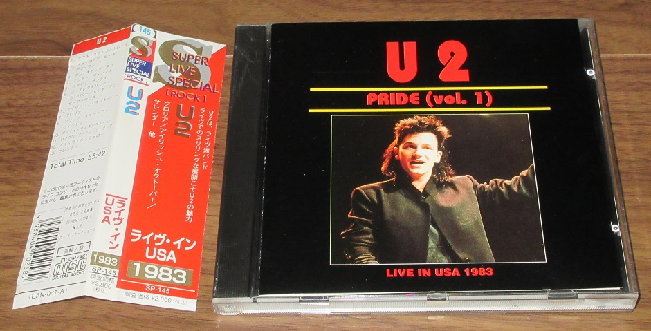 U2 - Pride (vol.1 Live In Usa)