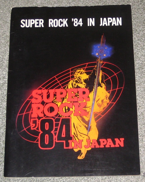 Scorpions - Super Rock 1984 Program