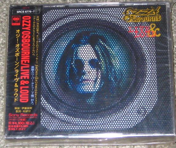 Osbourne,Ozzy Live+And+Loud CD