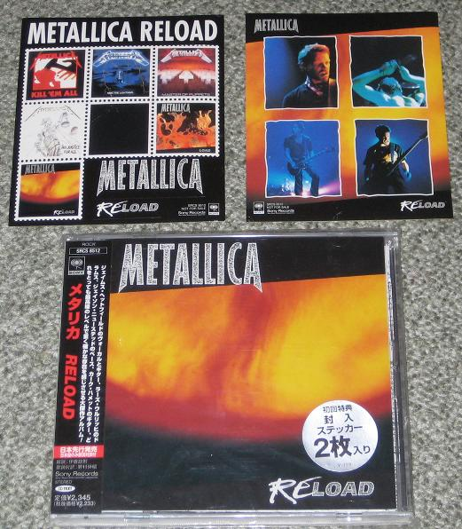 Metallica - Reload Single