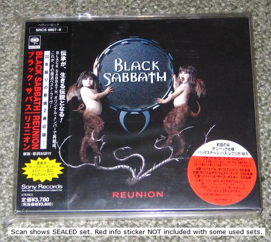 Black Sabbath - Reunion Record