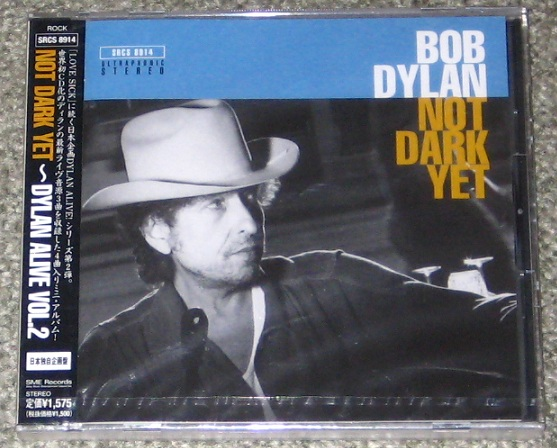 Dylan,Bob Not Dark Yet Japan Only Cd CD:5''SINGLE