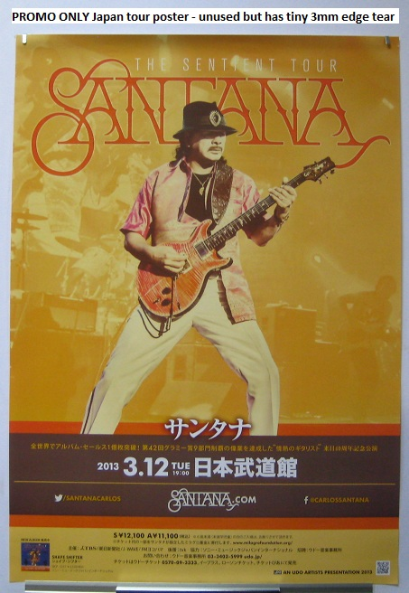 Japan 2013 Tour Promo Poster