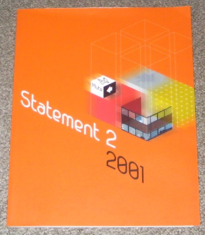 Statement 2 2001 Mute Catalogu