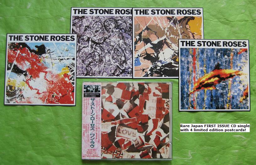 Stone Roses - One Love + Postcards!