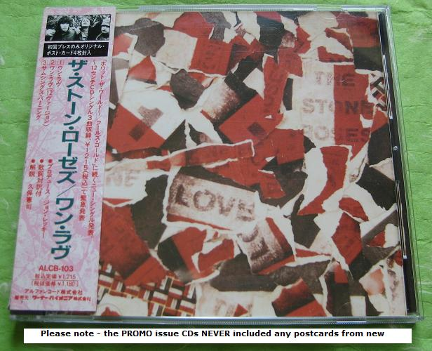 Stone Roses - One Love - Sealed Promo!